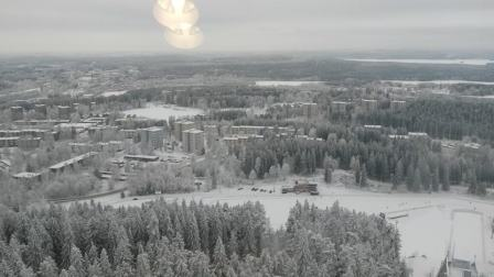 Beautiful views of Kuopio from the tower
