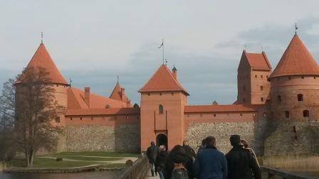 Trakei Castle near Vilnius (unfortunately closed)
