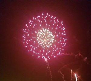 A photo of a firework