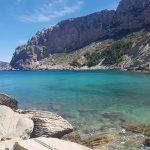 A beautiful beach in Mallorca
