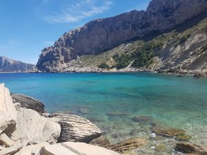 A picture of a beach in Mallorca