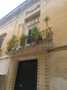 Balcony in Lecce