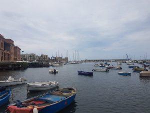 Bari old town harbour