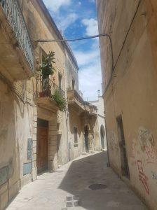 Streets in Lecce