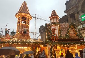 A photo of a stall at the German Market