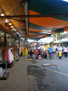 A photo of the market