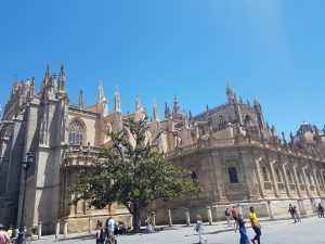 A photo of the cathedral