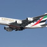 An A380, image courtesy of Wikipedia