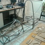 The actual chassis