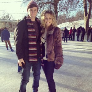 Us on the Ice!