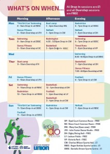 Lets Do Leicester Timetable