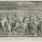 In the mean time enjoy William Blake's The Canterbury Pilgrims, which I found on Wikipedia.