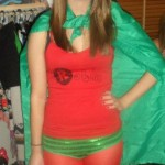 Me as Batman's sidekick, Robin