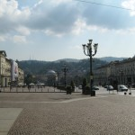 What, this? Oh, just Piazza Vittorio Veneto. Large, you say? It's nothing, really. I didn't even notice.