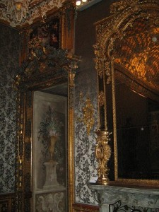 An interior view of the living quarters at Palazzo Madama, Turin.