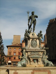 The Fontana di Nettuno, in Bologna.