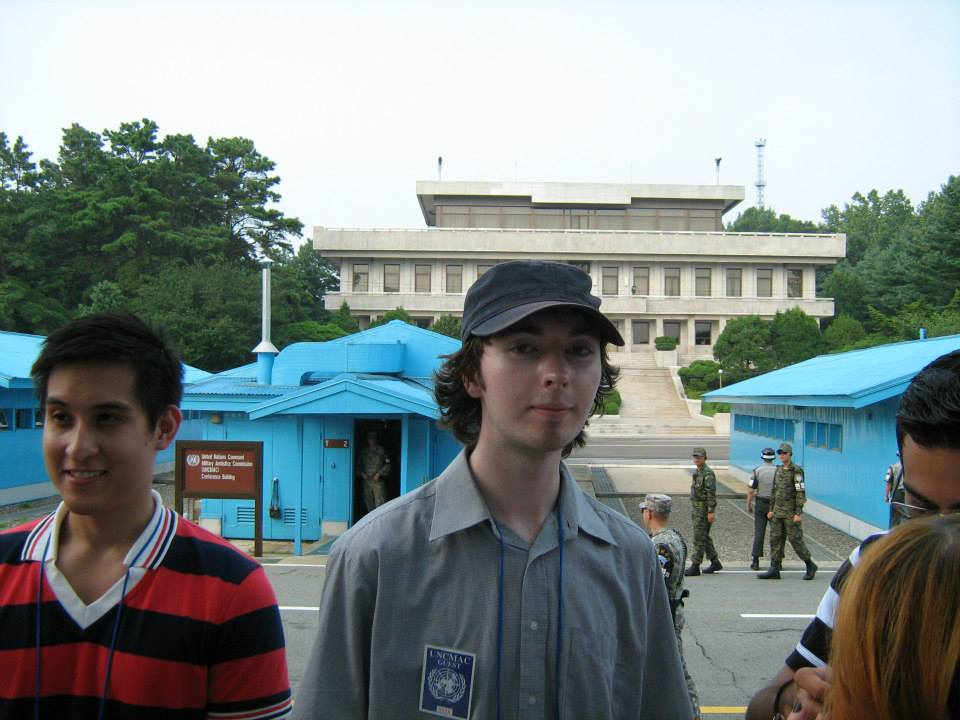My shirt's considered offensive in North Korea.