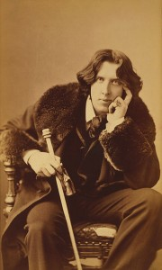 Did Wilde know how many blogs would link this photograph?