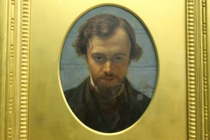 """Look into my eyes..."" Portrait of Rossetti by William Holman Hunt"
