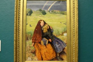 """The Blind Girl""-John Everett Millais"