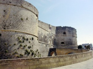 This is the Castle of Otranto, but the Gothic really doesn't benefit from daylight.