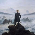 Caspar David Friedrich's 'Wanderer Above The Sea Of Fog' is often used to capture the idea of the Romantic individual