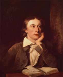 Keats being a handsome chap