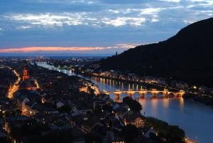 Heidelberg- sliiightly prettier than Leicester!