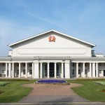 De Montfort Hall, where the ceremony takes place
