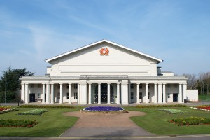 De Montfort Hall, where the ceremony takes place