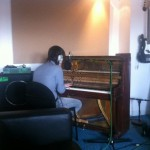 In the studio in the holidays …