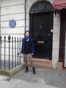 Visiting Baker Street of Sherlock series