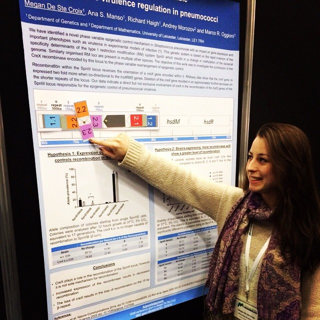 With my Interactive poster at SGM Bham 2015