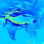 Gravity disturbances over the Himalayas, India and parts of South-East Asia (Source: Curtin Universiyt, 2013, http://geodesy.curtin.edu.au/research/models/GGMplus/gallery.cfm)