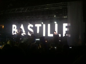 Bastille at the O2 Academy at Leicester university on 17.10.2013
