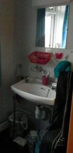 My bedroom sink