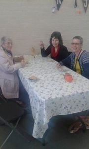 Last weekend I invited my Mum, Auntie and Grandma to visit the cafe.