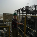 Current third year Lynsey, at a mine in Mauritania.