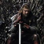Sean Bean as Lord Eddard Stark in Game of Thrones
