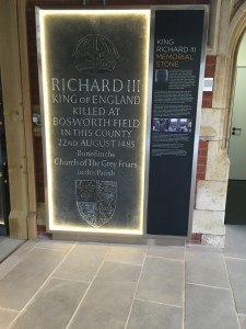 Richard's Memorial Stone - an example of what you might find at the centre!