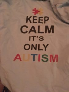 Keep Calm it's Only Autism