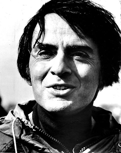 Carl Sagan spent his life promoting science, and rarely has the description of the cosmos ever been so eloquently put, than in his words.