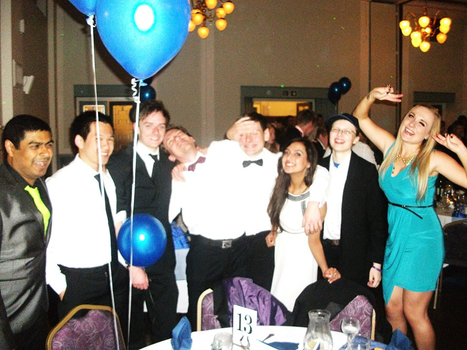 The I-Science and Physics Summer Ball.