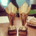 Ellie and I won the Best Duo award for our show at the Media Awards last year.