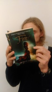 Fire - Kristin Cashore: I loved her book 'Graceling' and can't wait to start reading this :)