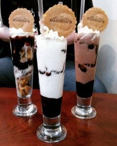 Madison's Cafe Shakes