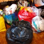About 1/4 of all the stuff I binned!