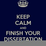 Starting Your Dissertation