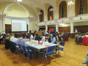 The FoMSF Annual International Christmas Dinner - Just one example of the many activities student groups get up to!