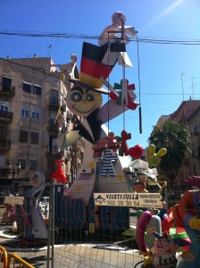 Falla with a political message